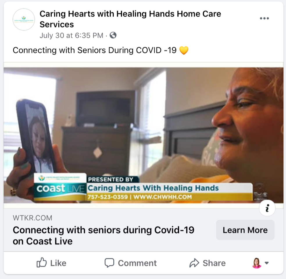 Connecting with Seniors During COVID-19